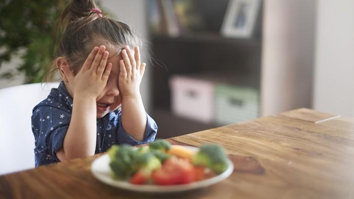 Anak kerap kali tidak doyan sayur (Foto: thinkstock)