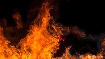 Ruko di Kawasan Tanah Abang Terbakar