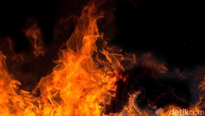 Ilustrasi Kebakaran. Andhika Akbarayansyah/detikcom.