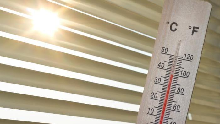 Ilustrasi suhu panas (Foto: Thinkstock).