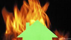 Rumah di Kebayoran Lama Jaksel Terbakar