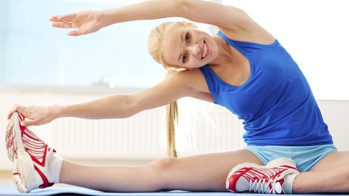 Jika Anda begitu semangat untuk mengurangi tumpukan lemak berlebih dan sudah mencoba berbagai cara namun gagal. Anda bisa mencoba lima latihan sederhana ini. Foto: thinkstock