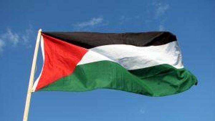 Ilustasi bendera Palestina