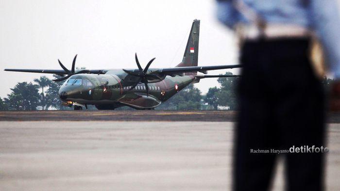 Pesawat CN-235 (Foto: Rachman Haryanto)