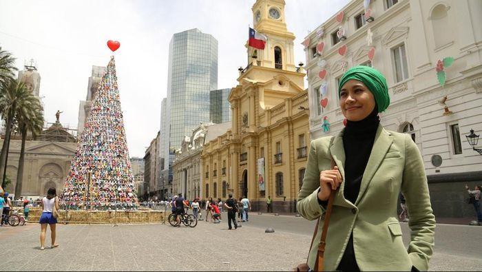 Kota Santiago-Chile/Foto: Aditya Jakun - Trans7