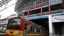 Perhatian! Perlintasan Sebidang Stasiun Palmerah Ditutup 29 November