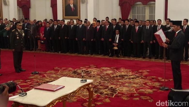 Sah! Gatot Nurmantyo Jadi Panglima TNI, Sutiyoso Jabat KaBIN