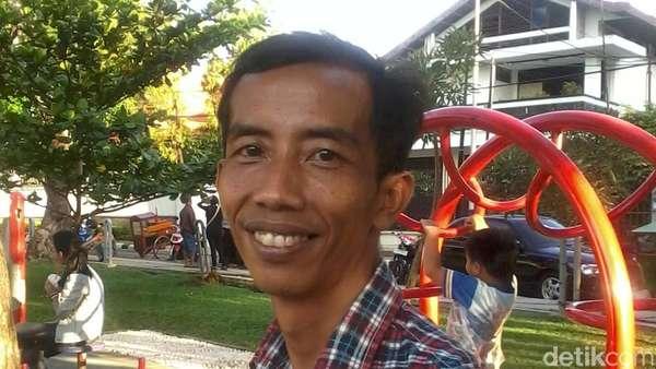 Reza Si Jokowi KW, Dari Kuli Bangunan Kini Jadi Bintang Iklan
