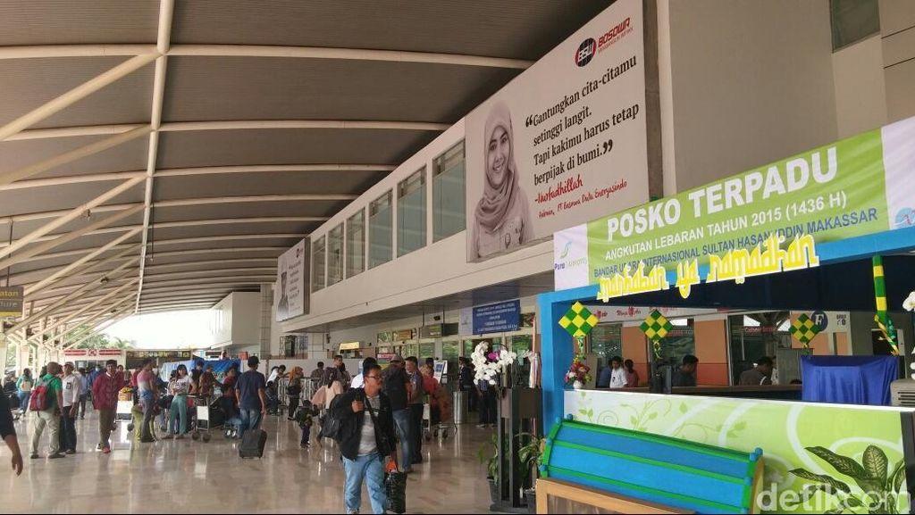 Bandara di Makassar Kebanjiran Extra Flight Buat Mudik Lebaran