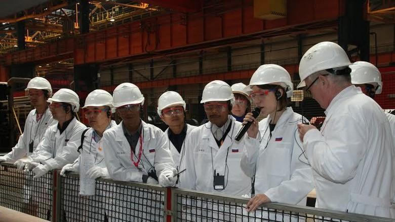 Industri Pipa dan Peleburan Baja Rusia Tertarik Bekerja Sama dengan RI