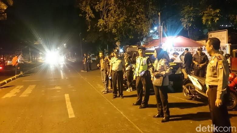 Bawa Sajam, 4 Peserta SOTR di Jakbar Diamankan Polisi