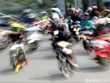 Jumlah Sepeda Motor di Indonesia Sudah Lewati 100 Juta Unit!