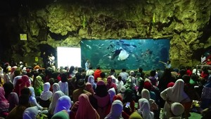 HUT Ke-23, Ancol Santuni 1.000 Anak Yatim dan Buka Kembali SeaWorld