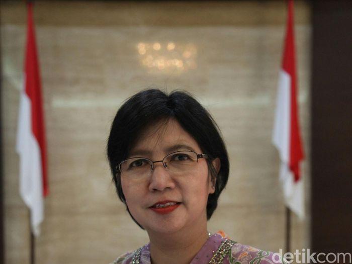 Destry Damayanti Deputi Gubernur Senior BI terpilih/Foto: Agung Pambudhy