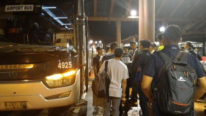 Bus Damri ke Bandara/Foto: istimewa