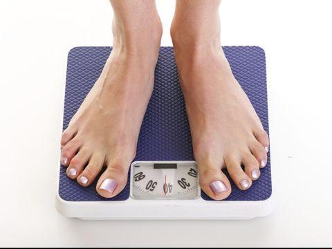Ilustrasi berat badan.