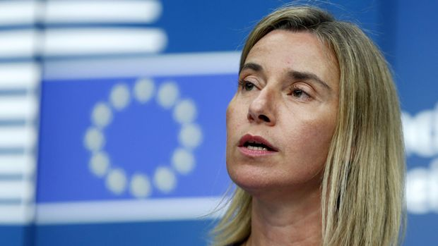 Komisioner Tinggi Uni Eropa Urusan Kebijakan Luar Negeri Federica Mogherini.