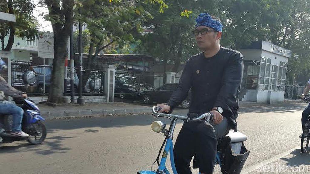 Penjelasan Polisi soal Ridwan Kamil Ditabrak Pengemudi Motor