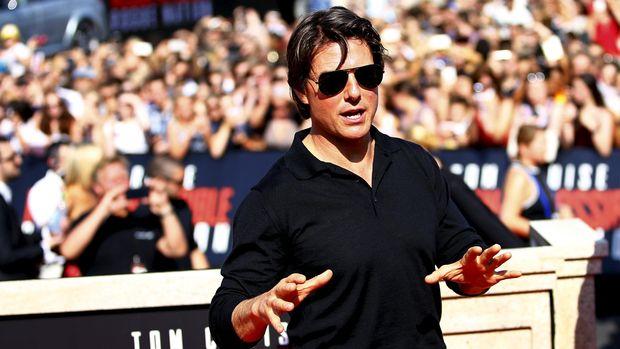 Tom Cruise masih melanjutkan aksi laganya dalam 'Top Gun: Maverick'.
