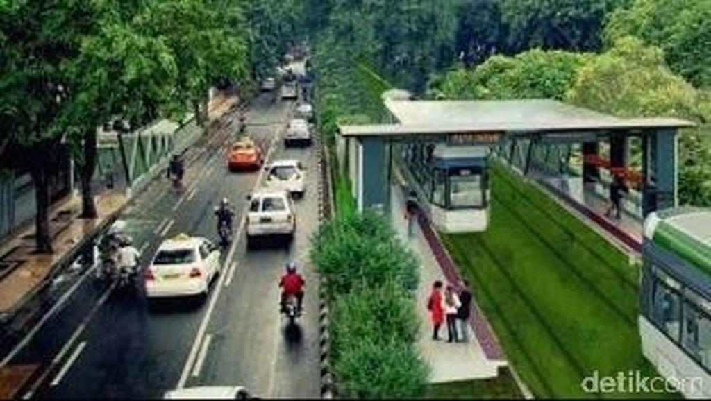 Risma Pastikan Proyek Trem Jalan, Sudah Dibentuk Panitia Lelang