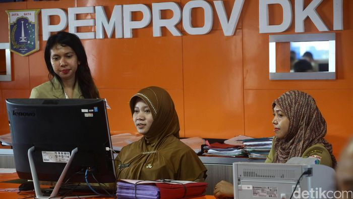 PNS DKI Jakarta/Foto: Hasan Al Habshy
