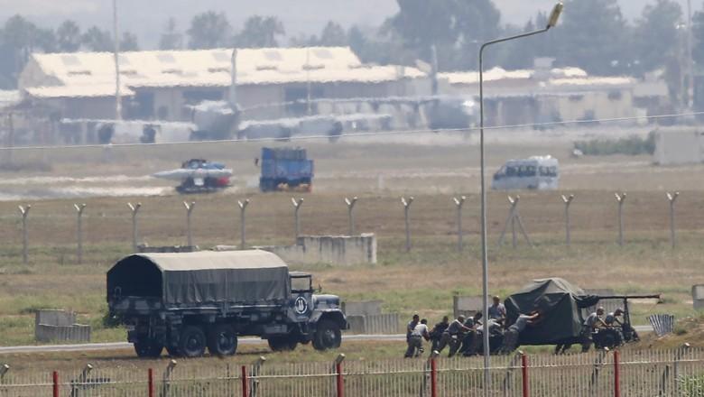 Akan Serang Pesawat AS, WN Rusia Anggota ISIS Ditahan di Turki