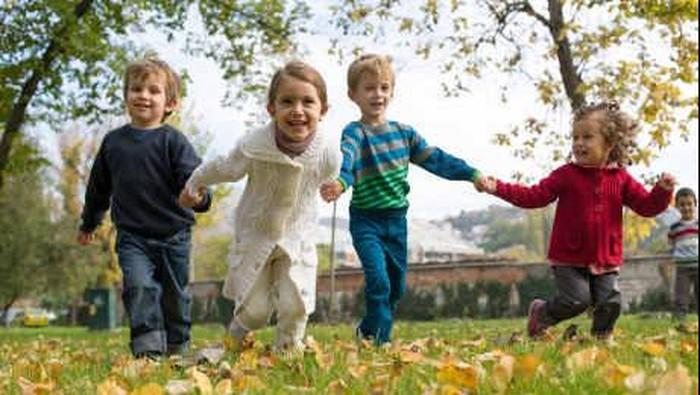 Permainan masa kecil dulu bisa membawa manfaat baik untuk kesehatan. (Foto: thinkstock)