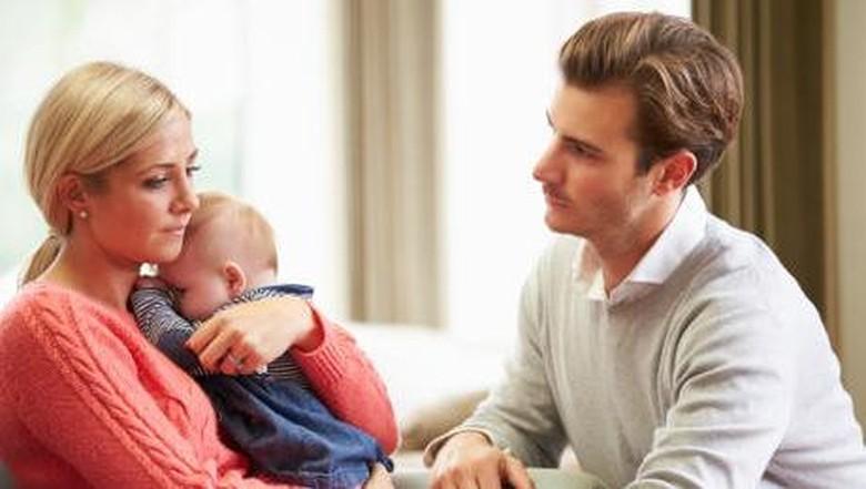 Ilustrasi depresi setelah melahirkan/ Foto: thinkstock