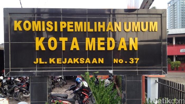 Kantor KPU Kota Medan