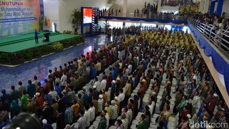 Tutup Muktamar Muhammadiyah ke-47, JK: Sangat Demokratis