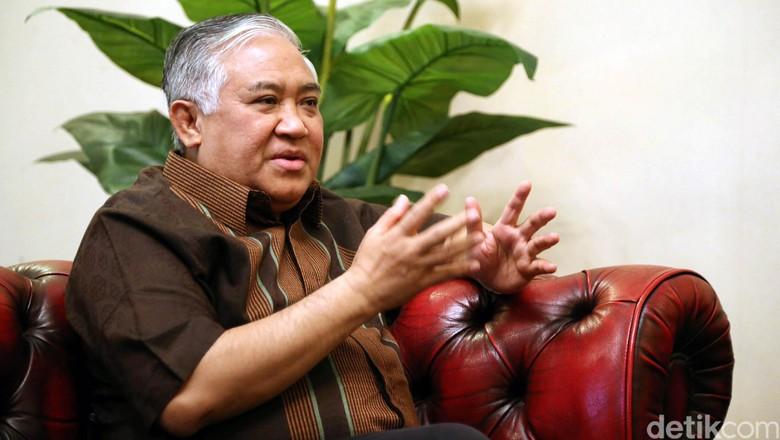 Lengser dari Ketum PP, Din Syamsuddin Jadi Ketua Ranting Muhammadiyah