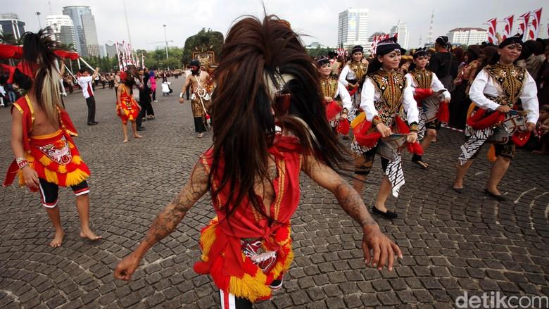 Reog Ponorogo akan unjuk gigi di Davao dan Manila, Filipina (Rachman Haryanto/detikcom)