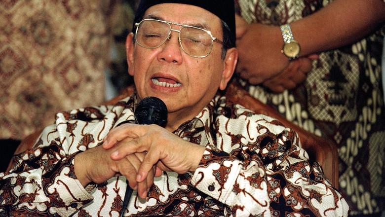 HUT Ke-92 NU, PDIP Kenang Kedekatan Gus Dur dengan Megawati