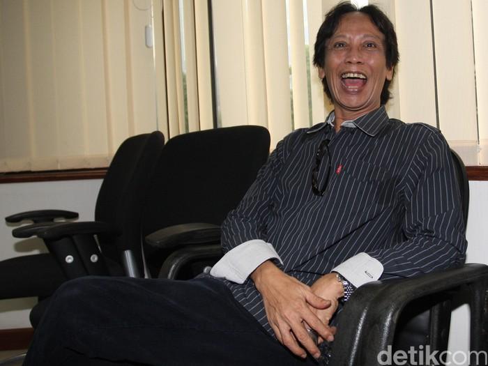 Direktur PT Viandra Production Mandra Naih menjalani sidang perdana di Pengadilan Tindak Pidana Korupsi Jakarta, Kamis (20/8/2015). Mandra menjadi terdakwa dalam kasus korupsi program di TVRI, dengan agenda pembacaan dakwaan dari jaksa penuntut umum. Lamhot Aritonang/detikfoto