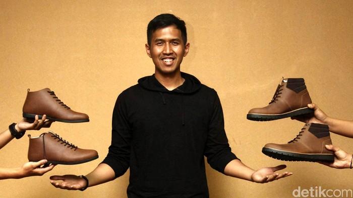 Dalam acara dPreneur, detikFinance mengajak berbincang CEO Brodo Footwear Yukka Harlanda dengan tema Sukses Bisnis Startup di Usia Muda digelar di Auditorium Menara Bank Mega, Jalan Kapten Tendean, Jakarta Selatan, Rabu (26/8/2015). Grandyos Zafna/detikcom.