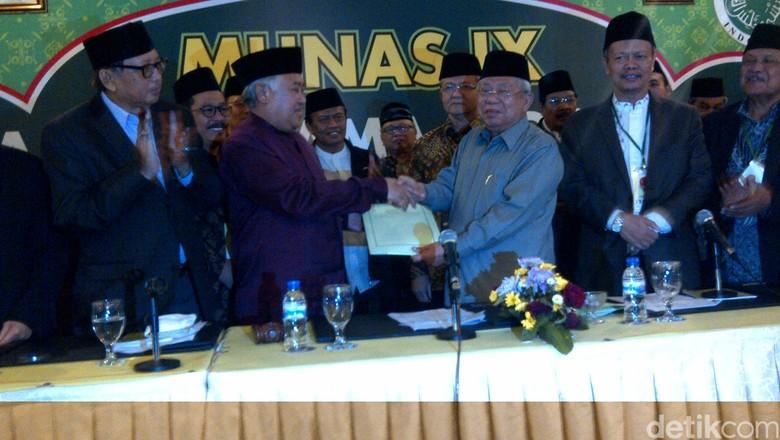 KH Maruf Amin Terpilih sebagai Ketua Umum MUI Pusat 2015-2020