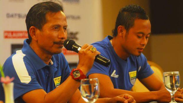 Atep pernah mendapatkan tempat istimewa di era Djadjang Nurdjaman sebagai pelatih. (