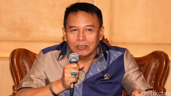Mayor Jenderal TNI Purn. Tubagus Hasanuddin, S.E., M.M. lahir di Majalengka, Jawa Barat, 8 September 1952 umur 62 tahun adalah seorang mantan perwira tinggi TNI-AD yang sejak 1 Oktober 2014 mengemban amanat sebagai Anggota DPR RI. Lamhot Aritonang/detikcom.