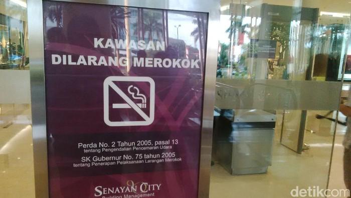 Ilustrasi kawasan tanpa rokok (Foto: M Reza Sulaiman)