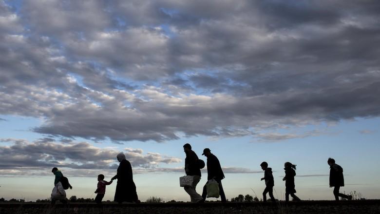 Mengenaskan! Pengungsi Suriah Nekat Bakar Diri karena Kelaparan