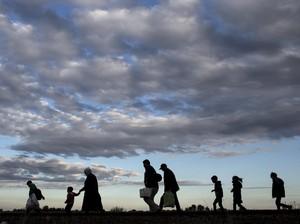 10 Pengungsi Suriah Tewas Kedinginan Saat Kabur ke Lebanon