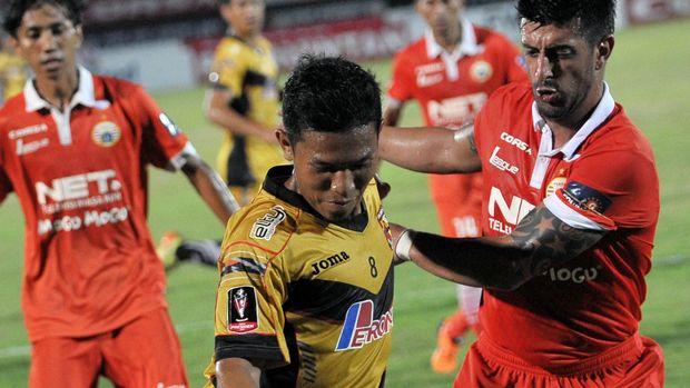 Eka Ramdani kerap gonta-ganti klub termasuk pernah memperkuat Mitra Kukar. (