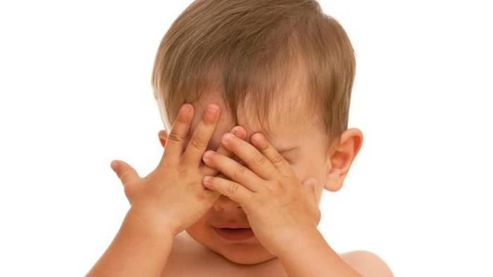 Ilustrasi anak dengan gangguan mata. Foto: thinkstock