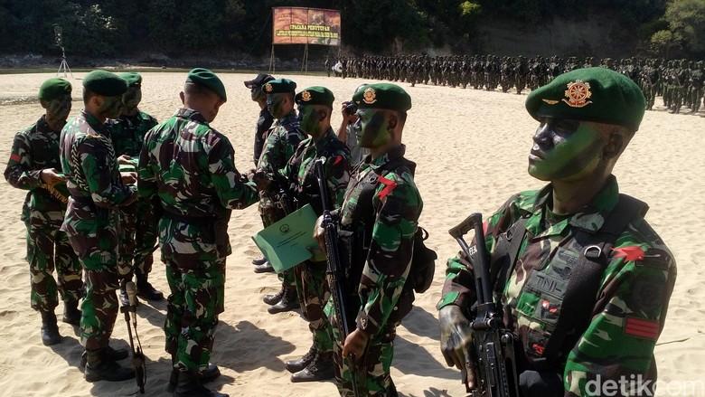 Bertahan 3 Hari di Hutan Tanpa Makanan Jadi Latihan Terberat Pasukan Raider