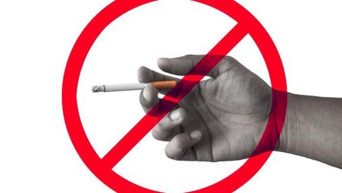 Ilustrasi dilarang merokok. Foto: thinkstock