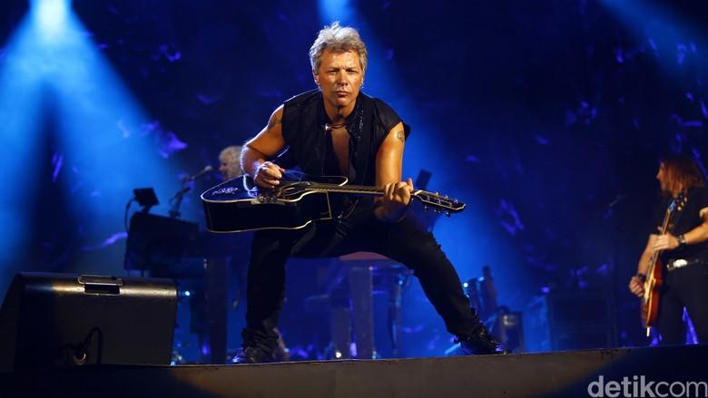 Foto: Bon Jovi (Reno Hastukrisnapati Widarto/detikcom)