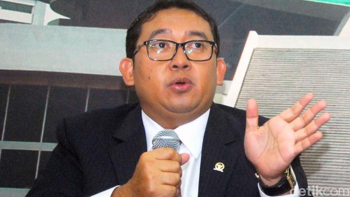 Wakil Ketua Umum Partai Gerindra Fadli Zon (Lamhot Aritonang/detikFoto)
