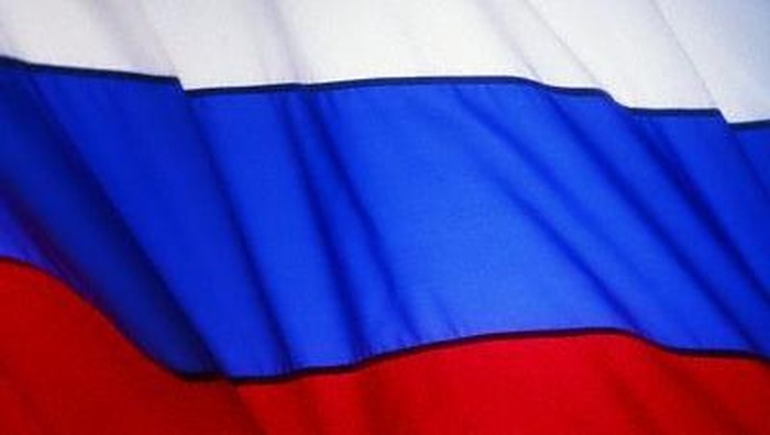 Russian Flag --- Image by  Royalty-Free/Corbis