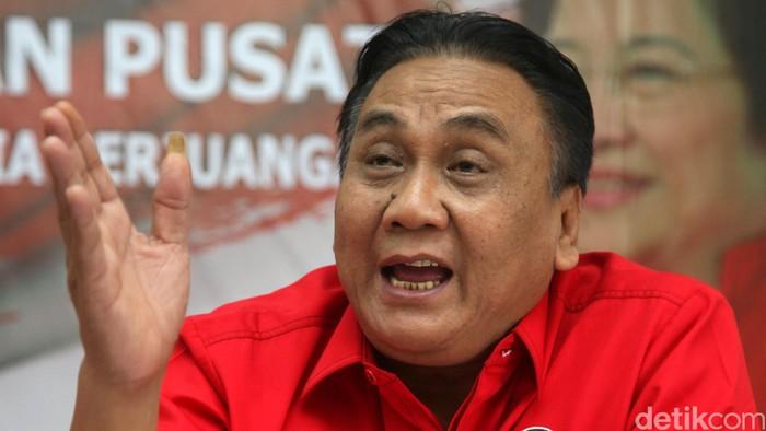 Foto: Sekretaris Fraksi PDIP Bambang Wuryanto. (Agung Pambudhy-detikcom)