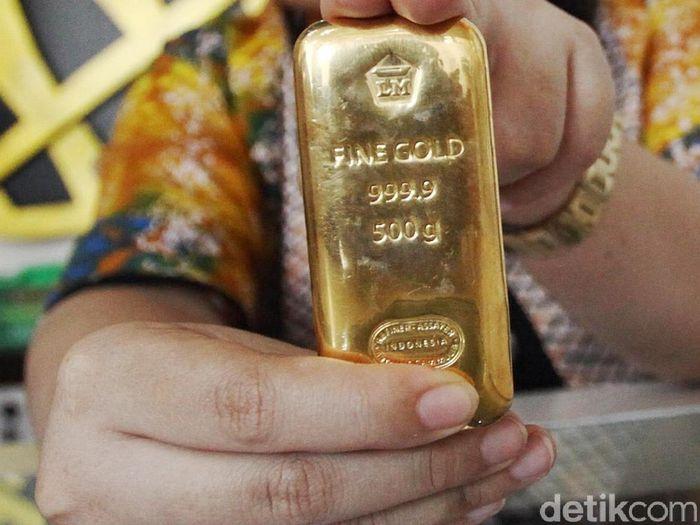Harga Logam Mulia Di Pusat Emas Cikini Dijual Rp 575000gram